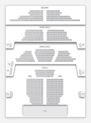 Seating plan for Apollo Theatre