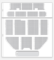 Seating plan for Apollo Victoria Theatre