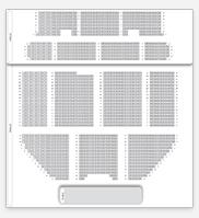 Seating plan for Apollo Victoria Theatre