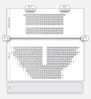 Seating plan for Duchess Theatre