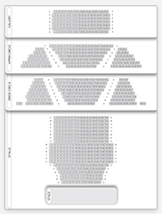 Seating plan for Haymarket Theatre Royal