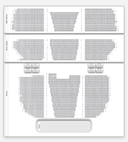 Seating plan for London Palladium
