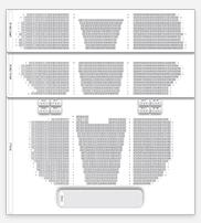 Seating plan for London Palladium