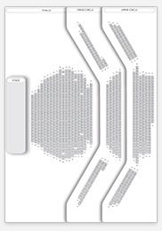 Seating plan for Old Vic Theatre