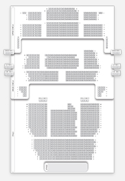 Seating plan for Prince Edward Theatre