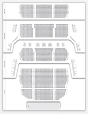Seating plan for Theatre Royal Drury Lane
