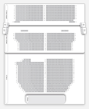 Seating plan for Victoria Palace Theatre