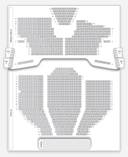Seating plan for Wimbledon Theatre