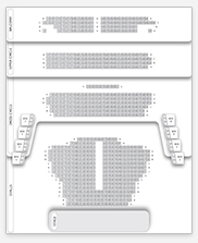 Seating plan for Wyndham's Theatre